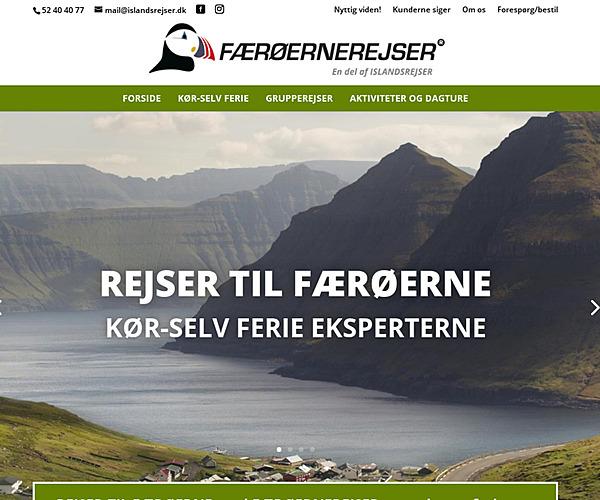 FÆRØERNEREJSER