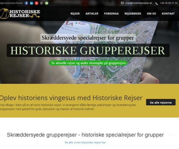 Historiske Rejser